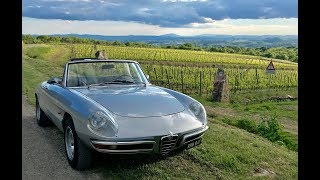 Italian road trip special; guide to the Mille Miglia in my Alfa Spider
