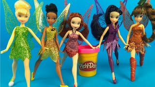 Disney Fairies Tinkerbell and the Legend of the Neverbeast figurines - Disney Princesses dolls