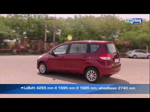 Maruti Suzuki Ertiga Road Test and Video Review by CarToq.com