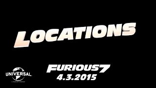 The Road to Furious 7 - Locations (HD)