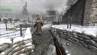 """Call of Duty 2- Mission 1: Intro/Red Army Training """"Veteran mode"""""""