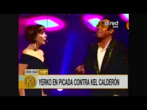 Yerko Puchento se fue en picada contra Kel Calderón