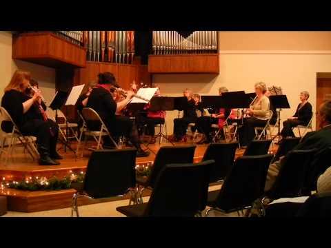 Three English Christmas Carols - Amy Rice-Young - Williamsport Flute Choir
