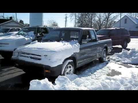 Fun With the Mazda B2600 Pickup Truck