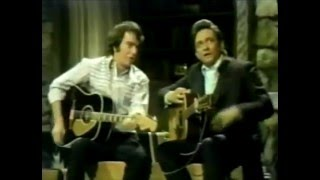 Neil Diamond on the Johnny Cash show 1970