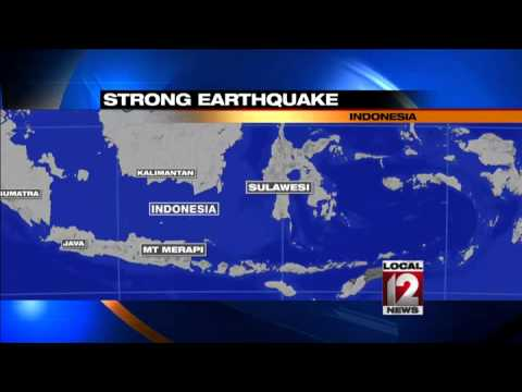 Strong earthquake hits off eastern Indonesia