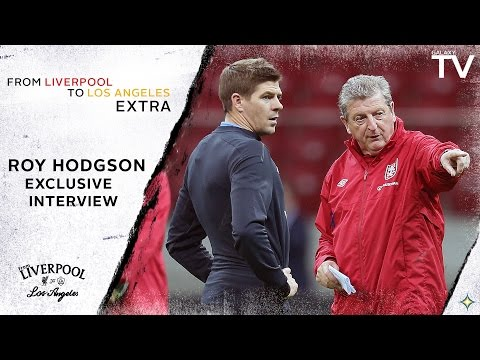 """Roy Hodgson on Steven Gerrard's LA Galaxy move: """"They'll win matches thanks to him"""""""