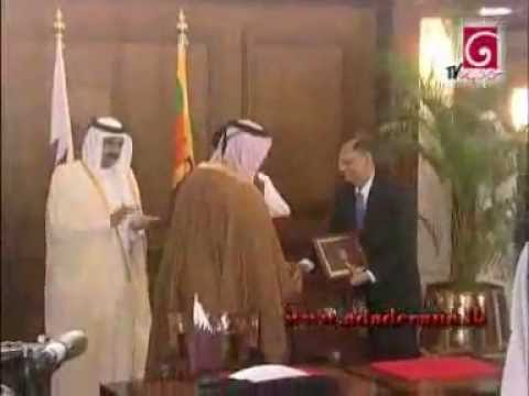 Sri Lanka and Qatar sign nine agreements ‎