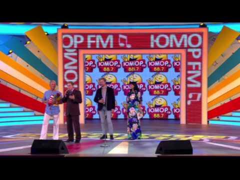 Вручение премии Юмор FM Михаилу Задорнову