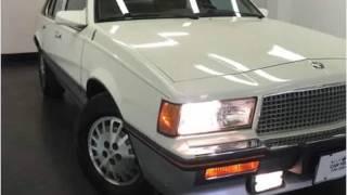 1986 Cadillac Cimarron Used Cars Denver CO