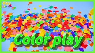 Color Play l Learn English colors for kids l Kids Song l Nursery rhymes - Toy class TV