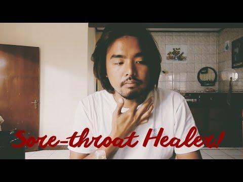 Sore-throat healer!