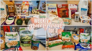 $65 WALMART GROCERY HAUL + MEAL PLAN // Weekly Haul for Family of 2