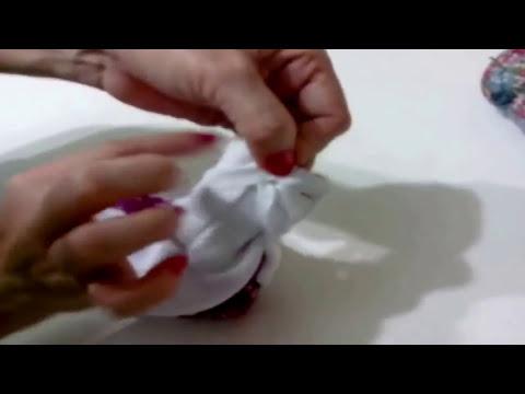 Como hacer un Cintillo de tela
