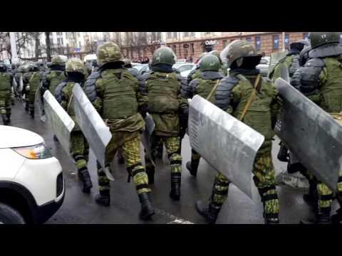 День Воли в Минске 25 марта. Ротация  ВВ к площади Якуба Коласа