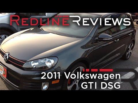 2011 Volkswagen GTI DSG Walkaround. Exhaust. Review. Test Drive