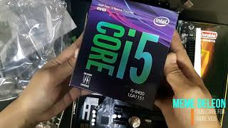 UNBOXING Gigabyte H310M DS2 and intel core i5 8th gen