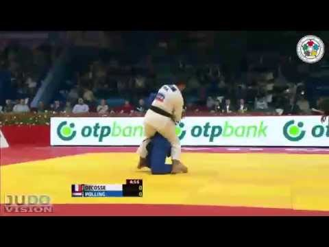 Judo World Masters Tyumen 2013: Lucie DECOSSE (FRA) - Kim POLLING (NED) Semi Final [-70kg]