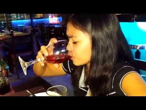 Cute 18y Filipina first drink, Cebu Philippines