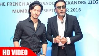 Tiger Shroff And Jackie Shroff Funny Interview Together