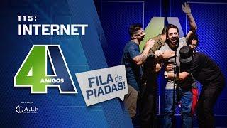 FILA DE PIADAS - INTERNET - #115 Participação Maurício Meirelles