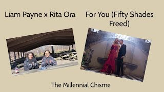 Download Lagu Liam Payne x Rita Ora  | For You Music Video (Fifty Shades Freed) Reaction | The Millennial Chisme Gratis STAFABAND
