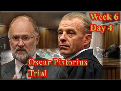 Oscar Pistorius Trial: Thursday 17 April 2014, Session 2