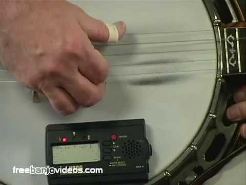 Banjo Lesson How To Tune The 5 String Banjo Youtube