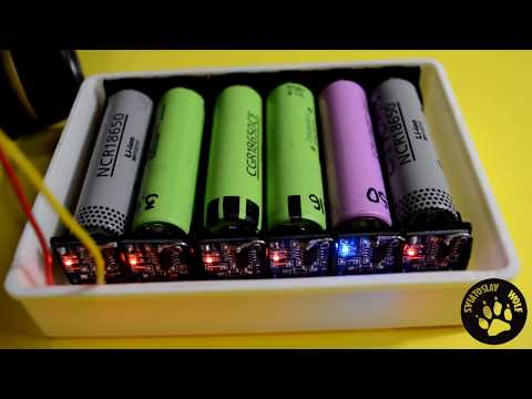 Зарядка Li-ion СВОИМИ РУКАМИ \ DIY: Lithium 18650 Cells Charger By Using TP4056 Modules
