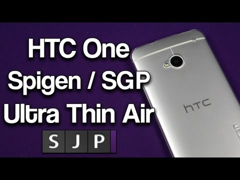 HTC One Spigen / SGP Ultra Thin Air Case @SpigenWorld