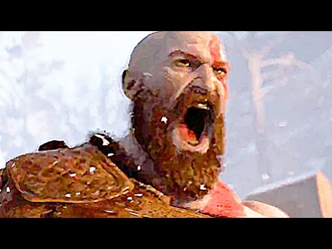 GOD OF WAR Gameplay Trailer 2016 - PS4