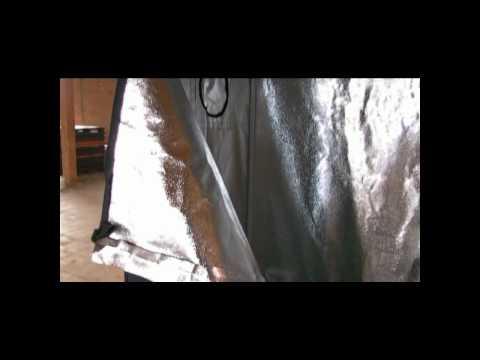 48'' X 24'' X 60'' Hydroponic Grow Tent 600d Oxford Cloth  Gt24