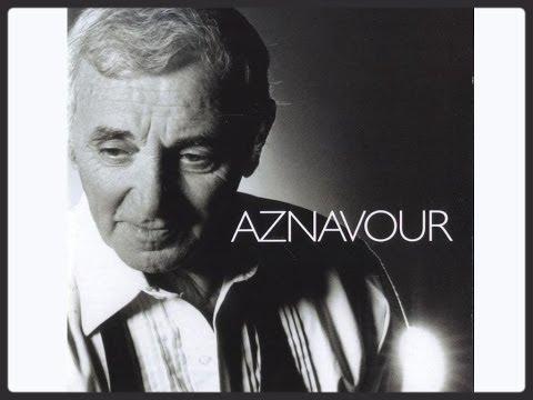 charles aznavour pour essayer de faire une chanson paroles