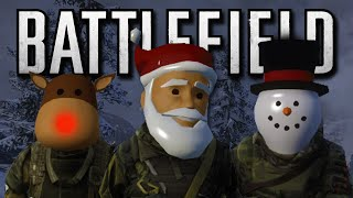 Battlefield 4 Christmas Edition - Easter Eggs, Sleigh Battle, Christmas Presents! (Funny Moments)