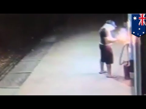Robbery And Explosives Fail: Man Tries To Rob Atm In Darwin, Australia By Blowing It Up video