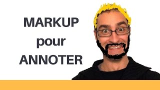 Markup pour Annoter une image (iOS10)