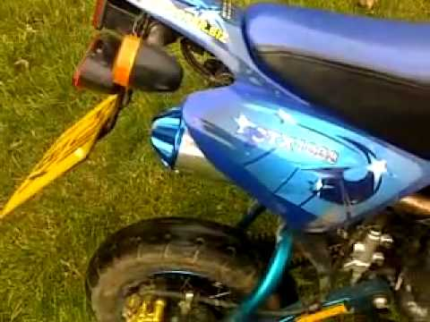 shineray xy50pyie 50cc road legal pit bike with 26mm carb