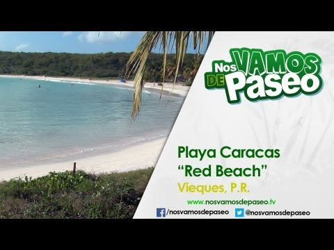 Playa Caracas, Vieques, P.R. (Red Beach)