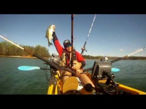 Kayak Fishing on Lake Lanier