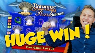 HUGE WIN!! Dolphins pearl Big Win - Casino Games - online slots