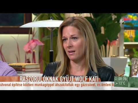 Wolf Kati az adománygyűjtésről: ˝Nagyon fontos, hogy az ember a gyerekeinek is megmutassa˝
