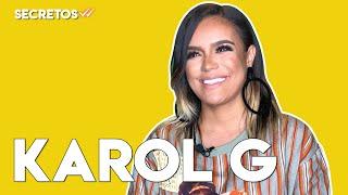 Karol G nos cuenta cómo suena su cama y qué famosos le coquetean por Instagram | Secretos