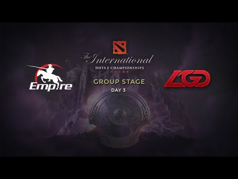 LGD -vs- Empire, The International 4, Group Stage, Day 3