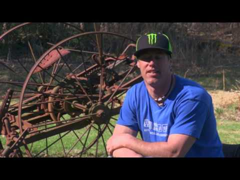 Doug Henry Backflip At Travis Pastrana's House - Interview