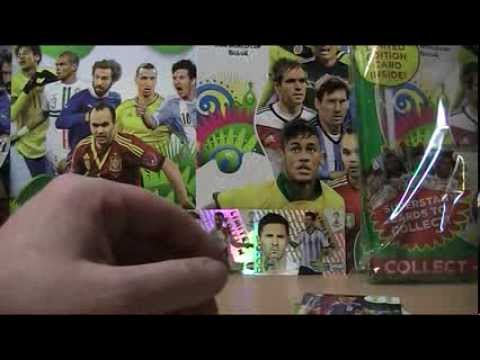 FIFA WORLD CUP BRAZIL 2014 - UNBOXING - MEGA ZESTAW STARTOWY
