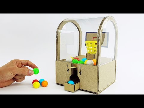 DIY Best Ever Toy Slam Dunk Double Bubble Mini Gumball Machine
