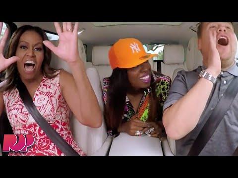 Michelle Obama CRUSHES Carpool Karaoke With James Corden