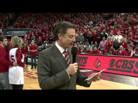 Louisville Men's Basketball: 2014 Senior Day Ceremony