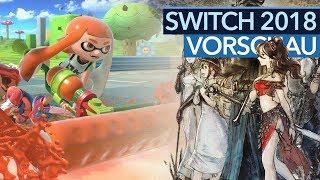 Nintendo Switch - Die wichtigsten Game Releases 2018