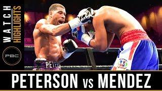 Peterson vs Mendez HIGHLIGHTS: March 24, 2019 - PBC on FS1